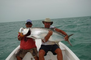 Parnell with 120lb Tarpon