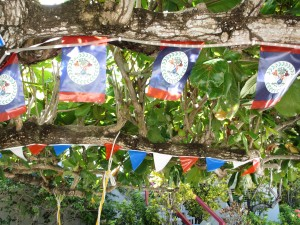 Flags on trees