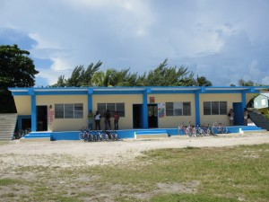 The two new classrooms!