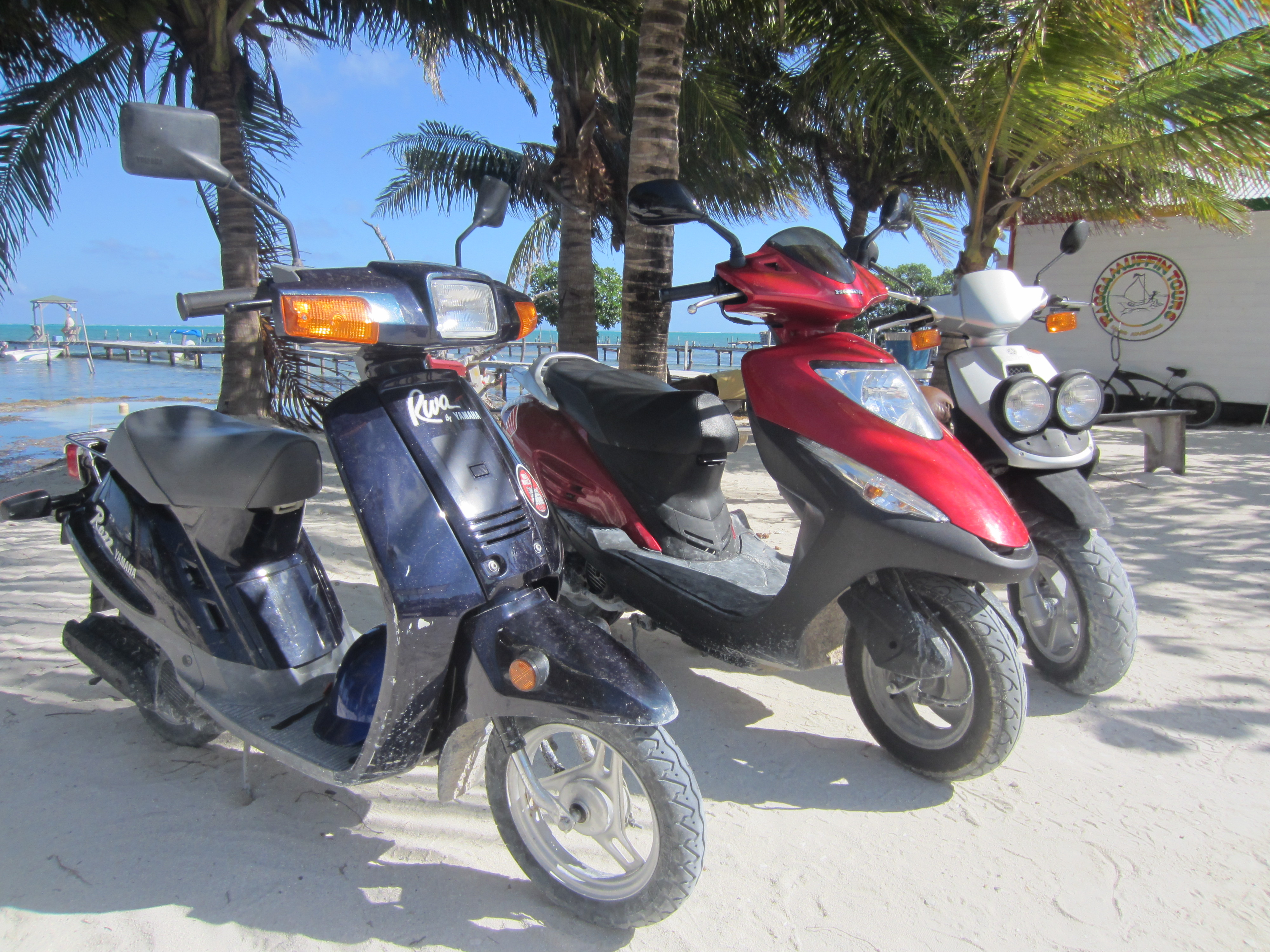 Scooters that are NOT for rent!
