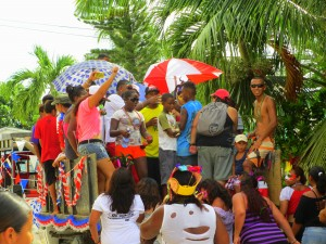 The Caye Caulker parade 2012!