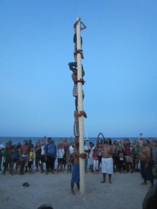 Eventual winners of the greasy pole