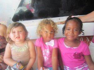 Skyler Hek, Zahara Jones and Jaylee Joseph