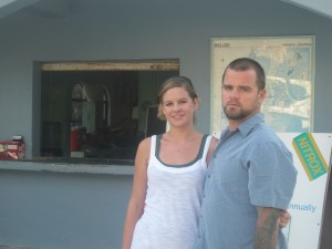 Dani and Chip Peterson - Owners of Belize Dive Services