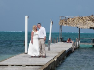Caye Caulker is an excellent wedding destination!