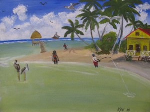 Kev's Beach Painting