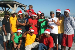 Ragga Crew with Patrick back Xmas 2010