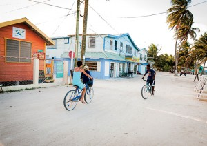 The articles lead photo to represent Caye Caulker