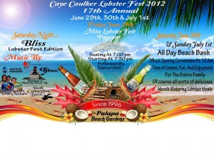Caye Caulker Lobster Fest 2012